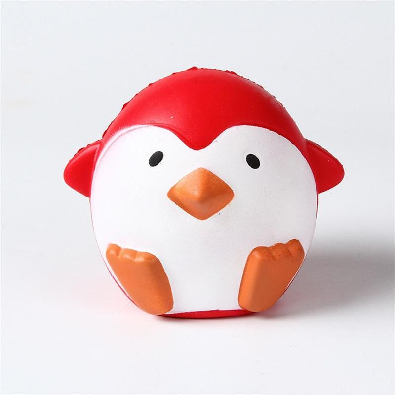انتعاش بطيء لعبة pu الضغط اسفنجي البهجة المزاج جميل الأطفال لعب الأطفال محاكاة البطريق شكل منتج جديد