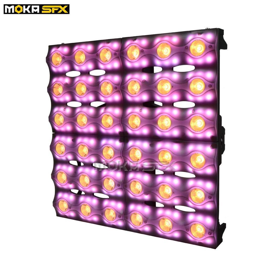 36pcs * 3W LED RGBW 4 en 1 Matrix Light Dj luz de la igualdad para la venta LED Par Can para la fotografía de TV Etapa Decoración