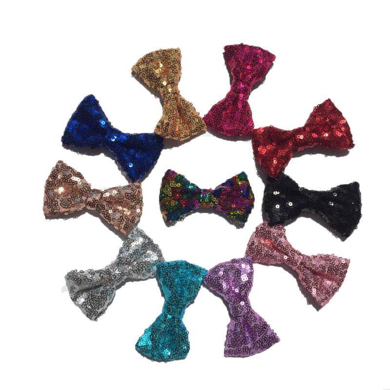 Блестки Bowknot Bow Tie Мода Hairbow Hairclip Аксессуары для волос заколка Заколка Декор Halloween Christmas Party Decor