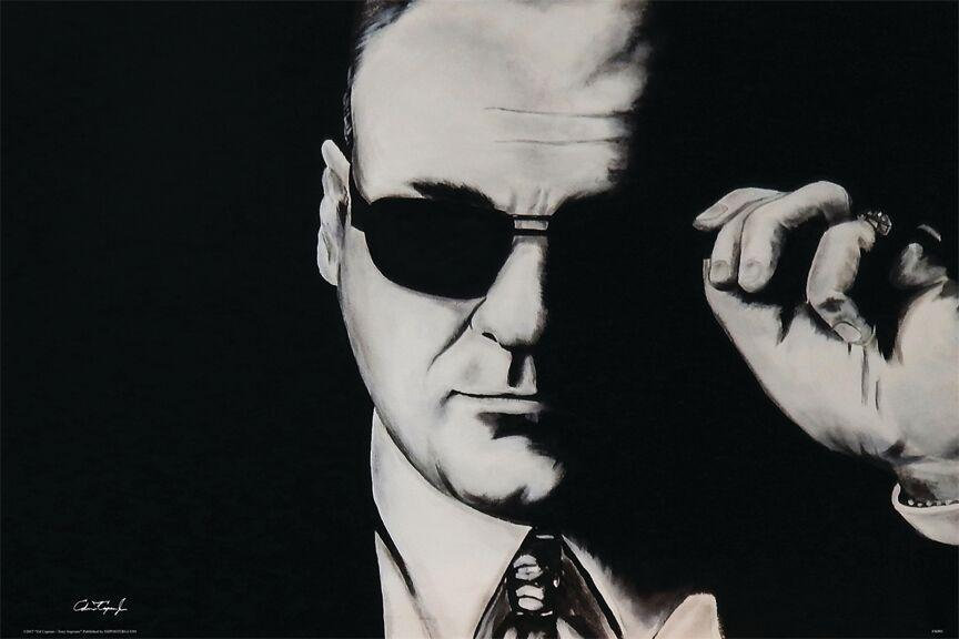 Tony Soprano Poster 24x36 inch rolled wall poster