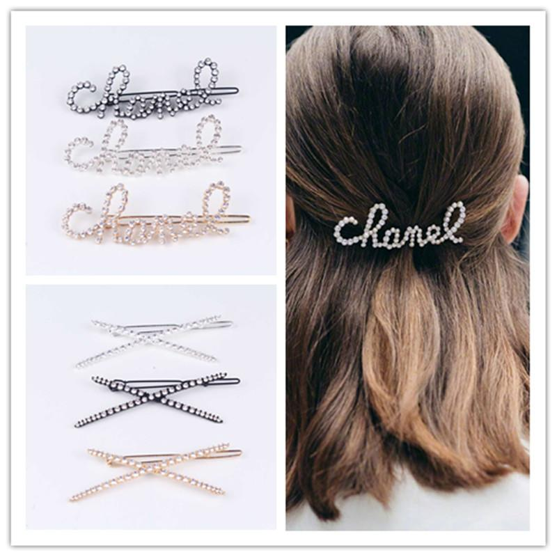 Hair Accessories Wedding Jewelry Grips Barrettes Crystal Hairpins Hair Clip