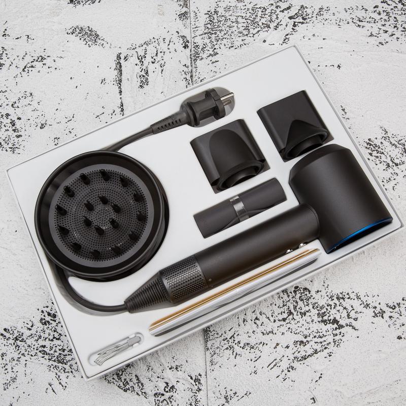 Лучшие качества Фен Профессиональный салон Инструменты фена для волос бигуди тепла Высокая скорость вентилятора Dry Фены 1шт DHL бесплатно