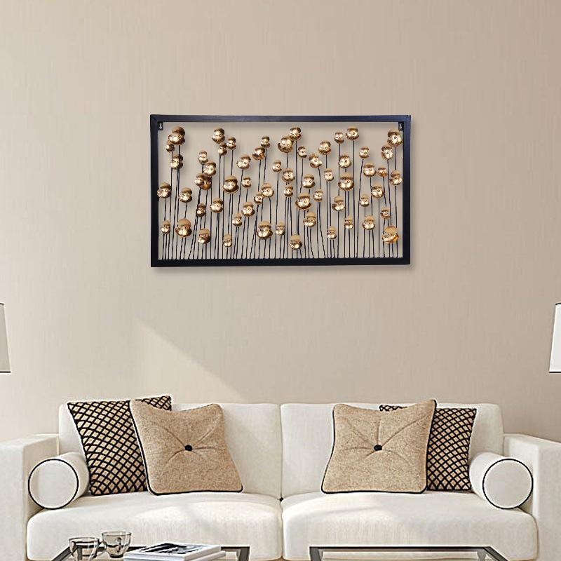 habitación nórdica decoración de jardín decoración de metal casa habitacion granja decoración de la pared pared de metal colgando creativa moderna pastoral 3D