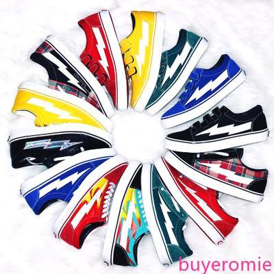 İNTİKAM 2 renk Tuval STORM KANYE Old Skool Casual Ayakkabı Spor ayakkabılar sarı Unisex Kayma-On Hafif Kaykay Ayakkabı x