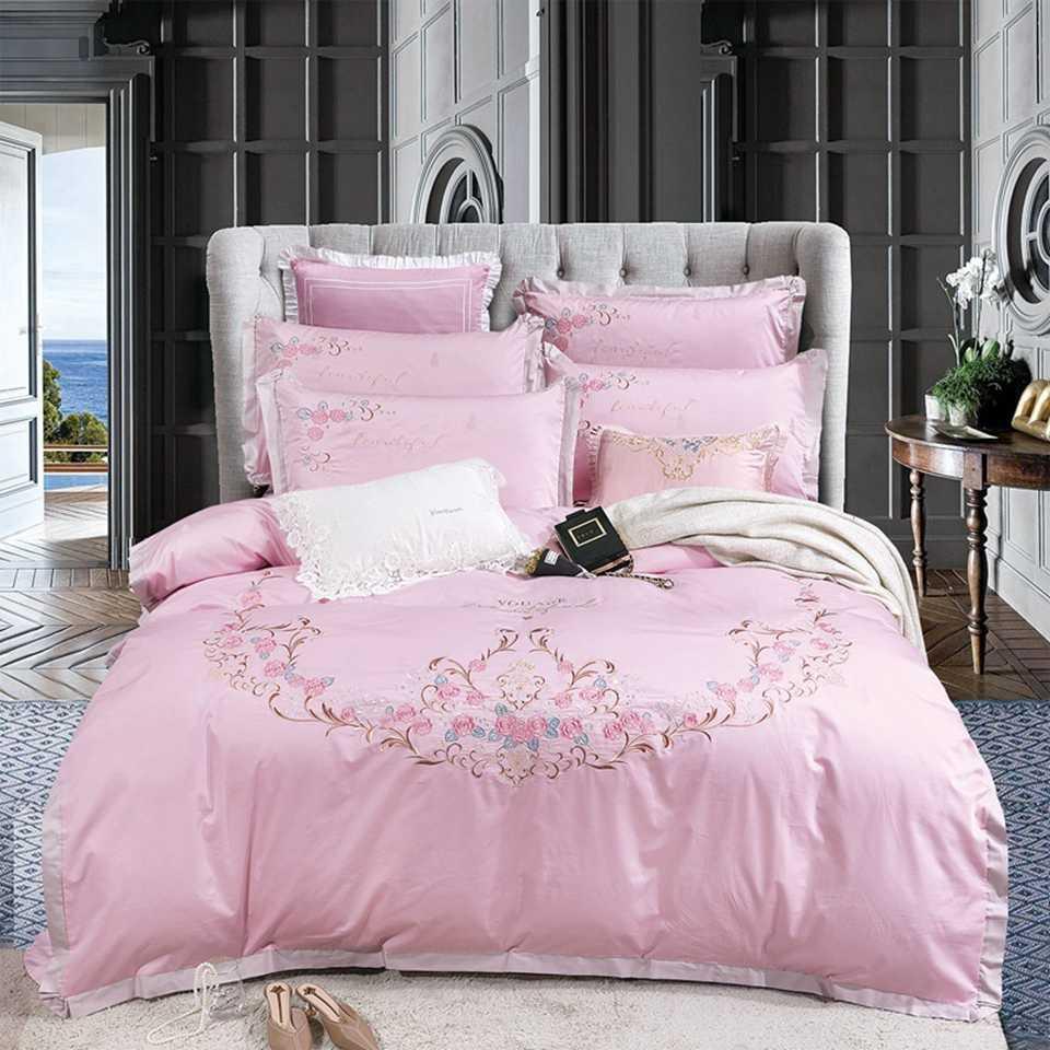 Les concepteurs de literie de luxe Ensembles King ou Queen Size Ensembles de literie Consolateur de draps de lit Lit Luxury douillettes Sets chauds 00