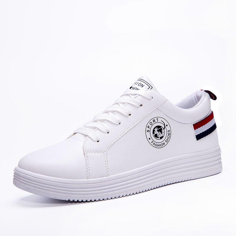 Mens White Shoes 2019 Autumn New Mens