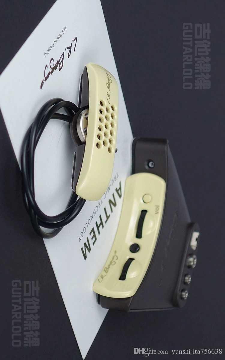 Lr.baggs.anthem, pressão sensível microfone dual-tom popular captador de guitarra acústica
