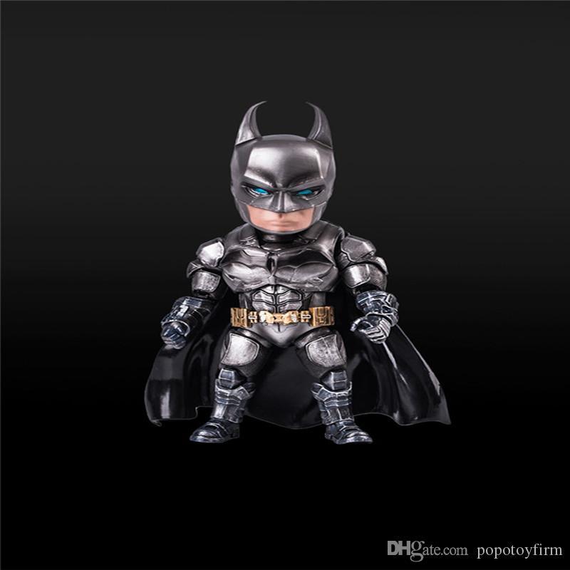 مبيعات ساخنة 18CM MA باتمان خارقة فارس الظلام بروس واين رمادي PVC نموذج عمل الشكل النموذجي لعبة