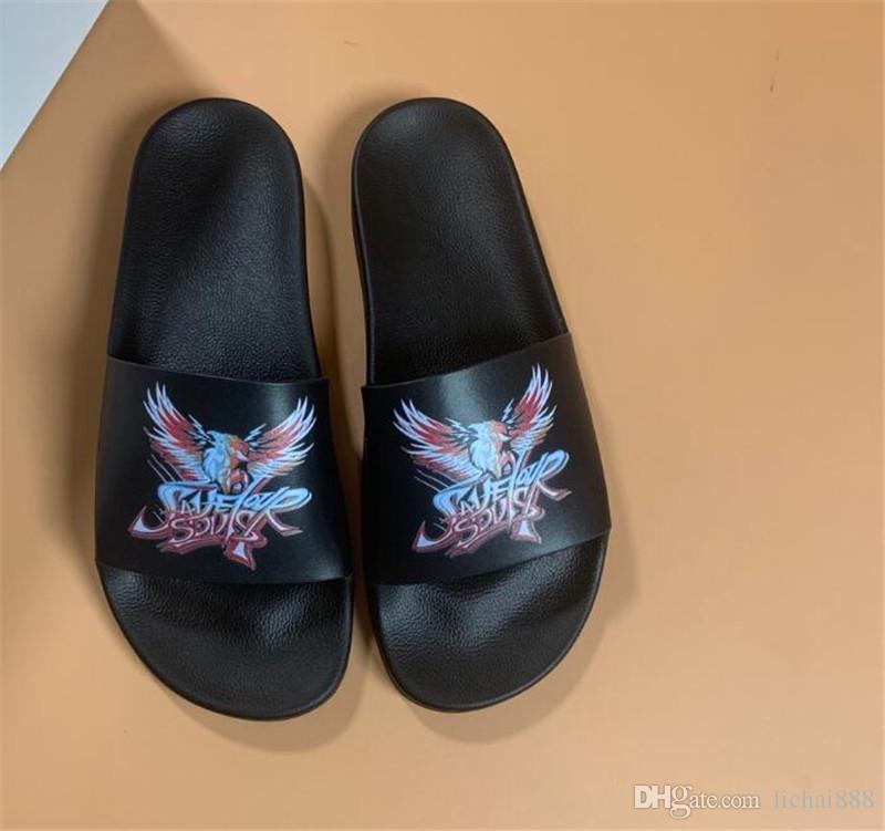 Designer de Borracha sandália de slides Floral brocade homens chinelo Engrenagem bottoms Flip Flops mulheres listrado Praia causal chinelo US6-11 # 401