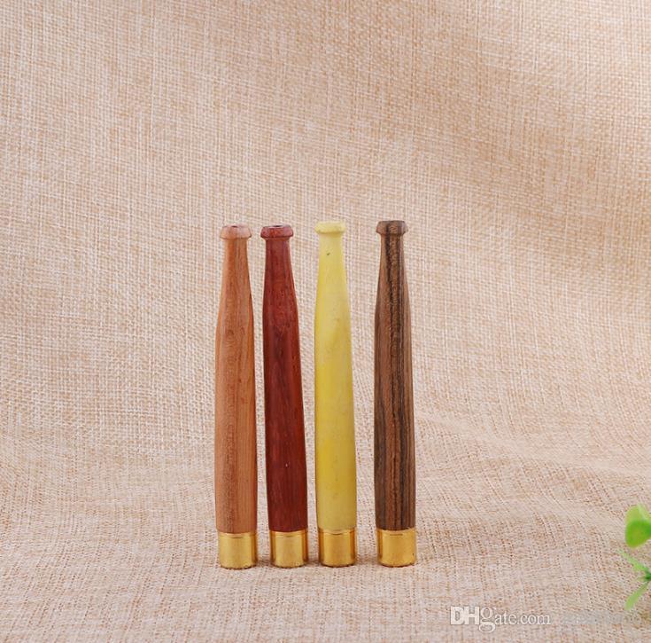 Natural de Madeira Maciça 5mm Boca De Limpeza Amarga Bico De Limpeza Circular Bocal De Filtro De Madeira