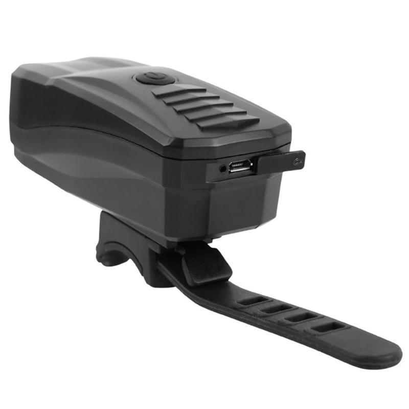 Wasserdichte helle Sicherheit Fahrrad-Licht-Fahrrad-Anti-Diebstahl-Alarm Horn Fernbedienung Scheinwerfer