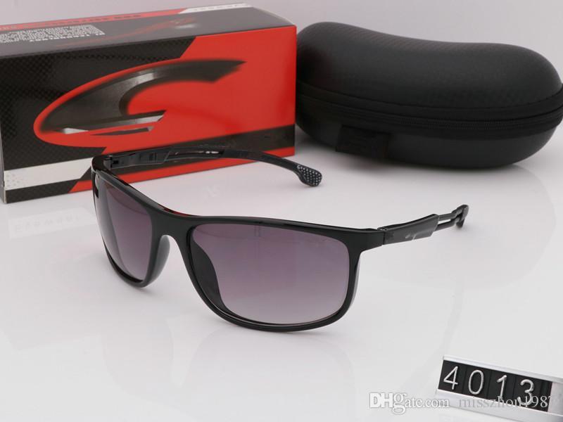 2019 new herren sonnenbrille für männer frauen uv-schutz 4013 sonnenbrille outdoor sport retro sonnenbrille mit box und fall