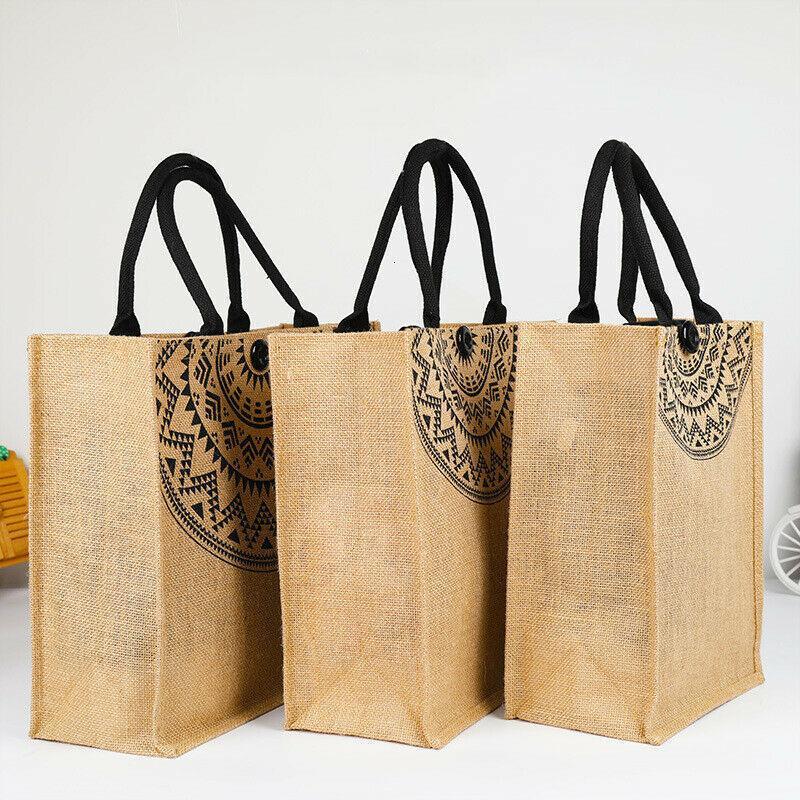 Women Men Handbag Canvas Tote Casual Reusable Large Shopping Bag Satchel Pouch