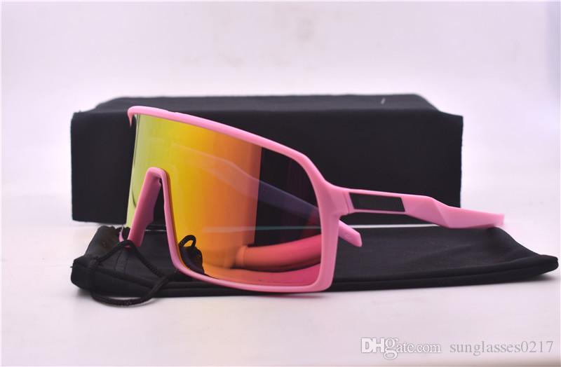 أعلى جودة النظارات الشمسية النظارات الشمسية المستقطبة للدراجات رجال نساء رياضة ركوب الدراجات في الهواء الطلق ركوب الدراجات النظارات الشمسية مع مربع 1PCS