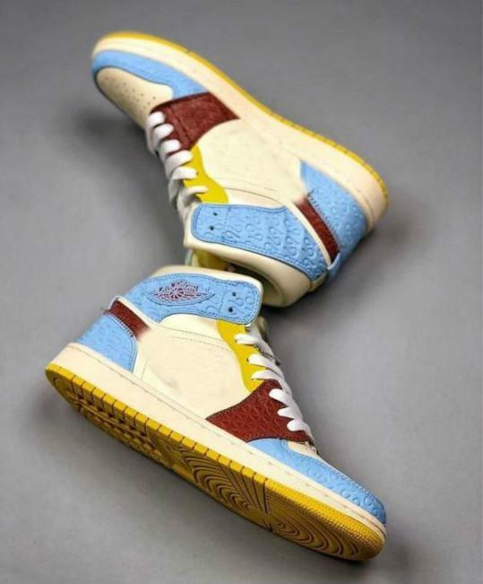 Nuovo 1 Maison Chateau Rouge media Fearless Pallacanestro Scarpe Donna Mens Sneakers Designer cestini 1s formatori comformtablese