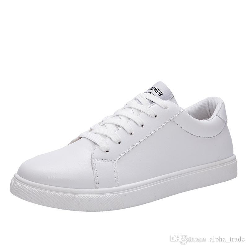 The New men's flat non-slip men casual shoes Italian flat shoes 2019 Korean version of men's pea soft men shoes
