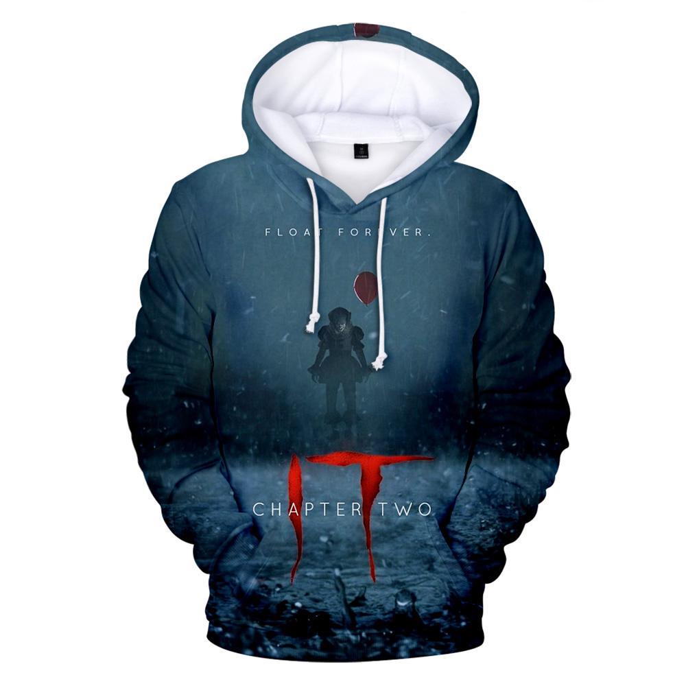 Es Kapitel 3D Hoodies Männer / Frauen beiläufige Art und Weise Hoodies Langarm 3D Herbst / Winter Harajuku Hoodie Jungen / Mädchen Sweatshirts