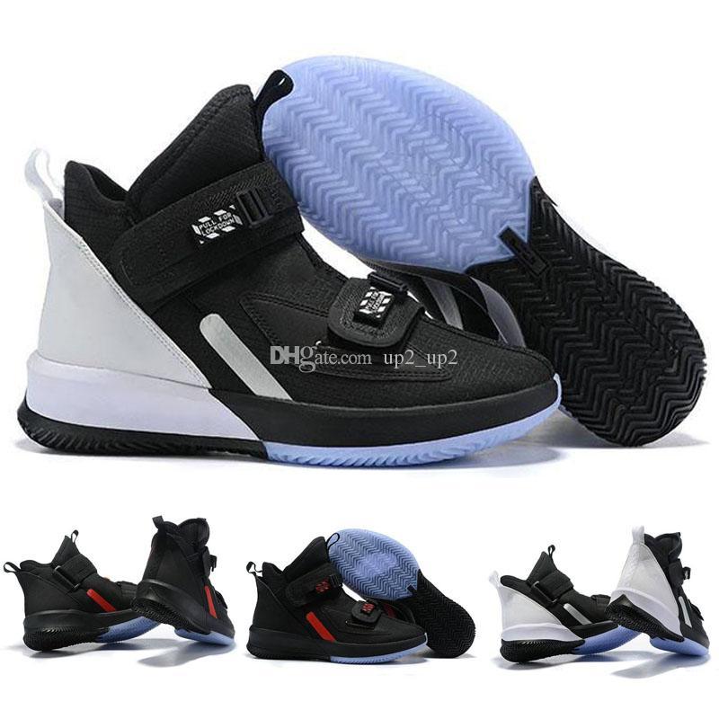 2019 Горячие Продажи Lebron Soldier 13 Мужчины Баскетбольная Обувь 13s Летняя Спортивная Обувь
