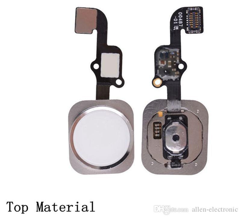Mobile Phone Home Button Flex Cable for iPhone 5 5C 5S SE 6 6 Plus 6s 6s Plus 8 8 Plus Home Key Flex Assembly NO TOUCH ID+