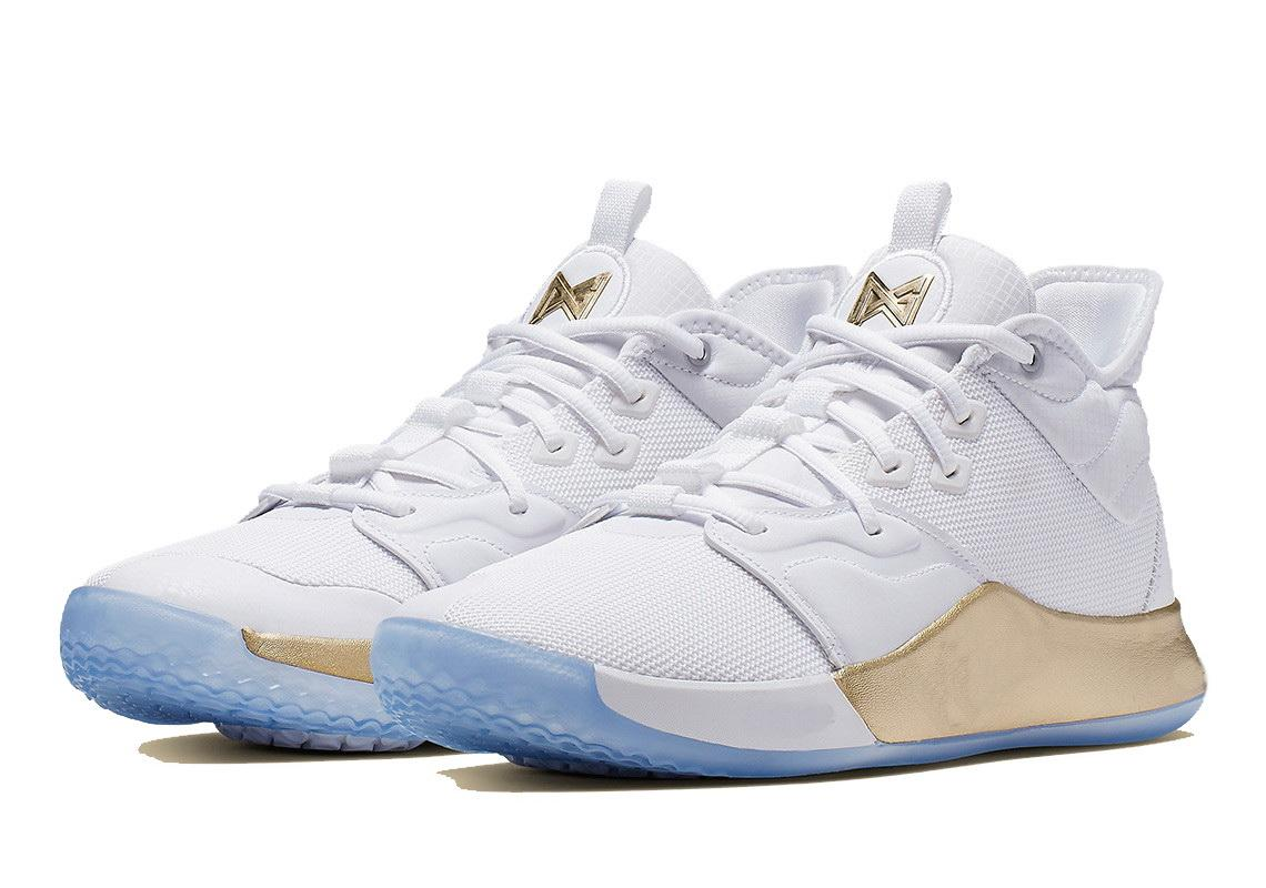 paul george 3 white gold Kevin Durant