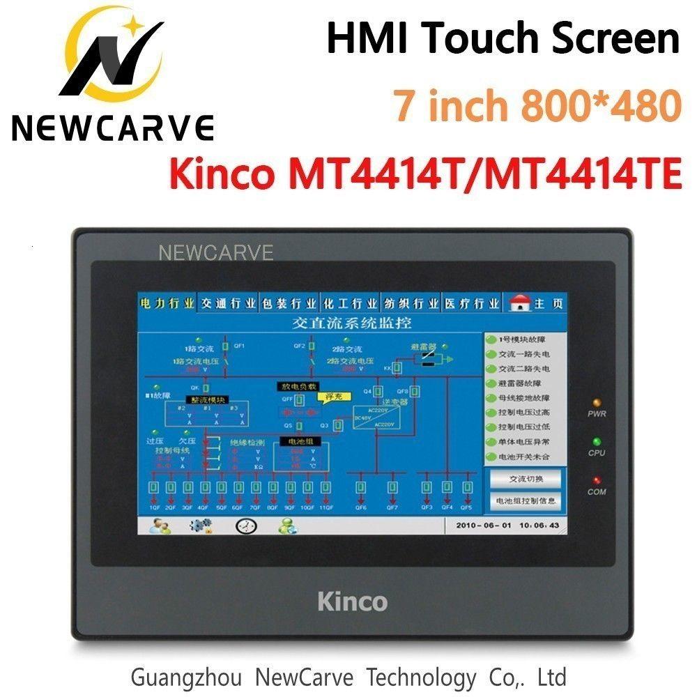 Кинцо MT4414TE MT4414T HMI сенсорный экран 7-дюймовый 800*480 Ethernet и 1 USB-хост новый человеко-машинный интерфейс Newcarve
