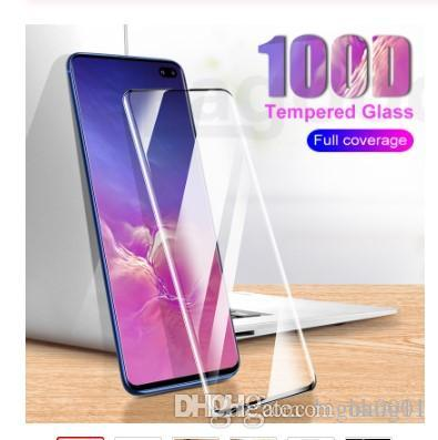 100D Full Cover Protective Tempered Glass on the For Samsung Galaxy S10E S7 Edge Note 8 9 10 S10 S9 S8 Plus Screen Glass Film
