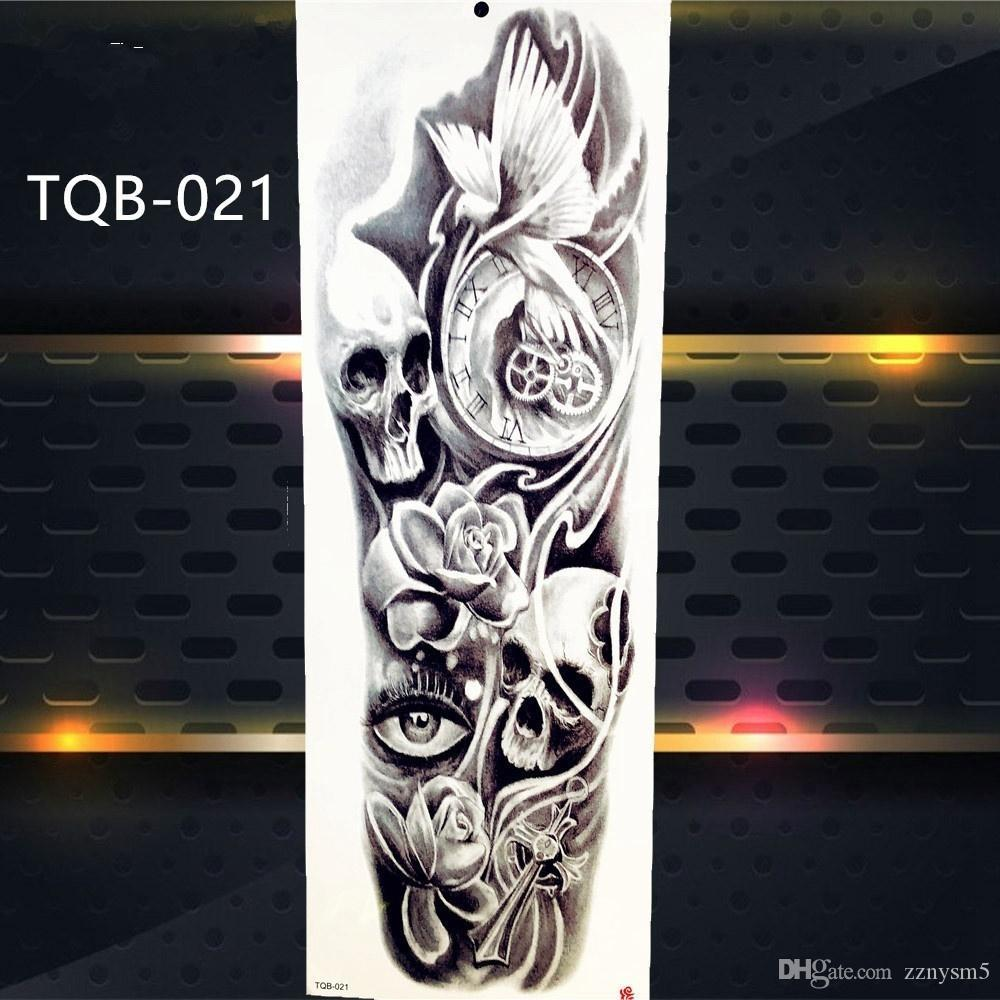 13 Images Skeleton Skull Buddha Dragon Tiger Removable Diy Waterproof Temporary Tattoo Body Art Stickers 48 17cm Temporary Tattoo Artist Temporary Tattoo Manufacturer From Zznysm5 0 81 Dhgate Com