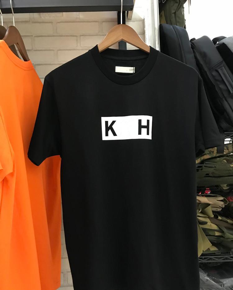 6 couleurs classiques Boîte Logo Tee Femmes Hommes Designer T-shirts marque de mode en vrac manches courtes en coton Casual ras du cou