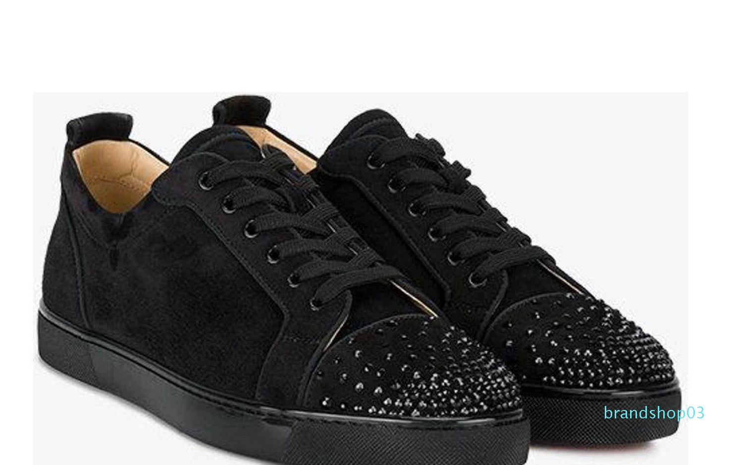 Designer Shoes Studded Spikes Sneakers