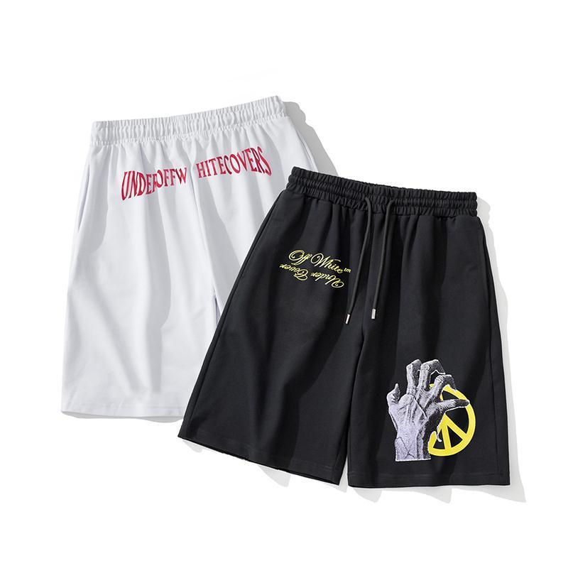 Pantalones cortos para hombres 2020 nuevos cortocircuitos ocasionales de los pantalones cortos de deporte de alta calidad de los hombres cómodos pantalones de cinco minutos al aire libre de los pantalones de diseño de tendencia SH8