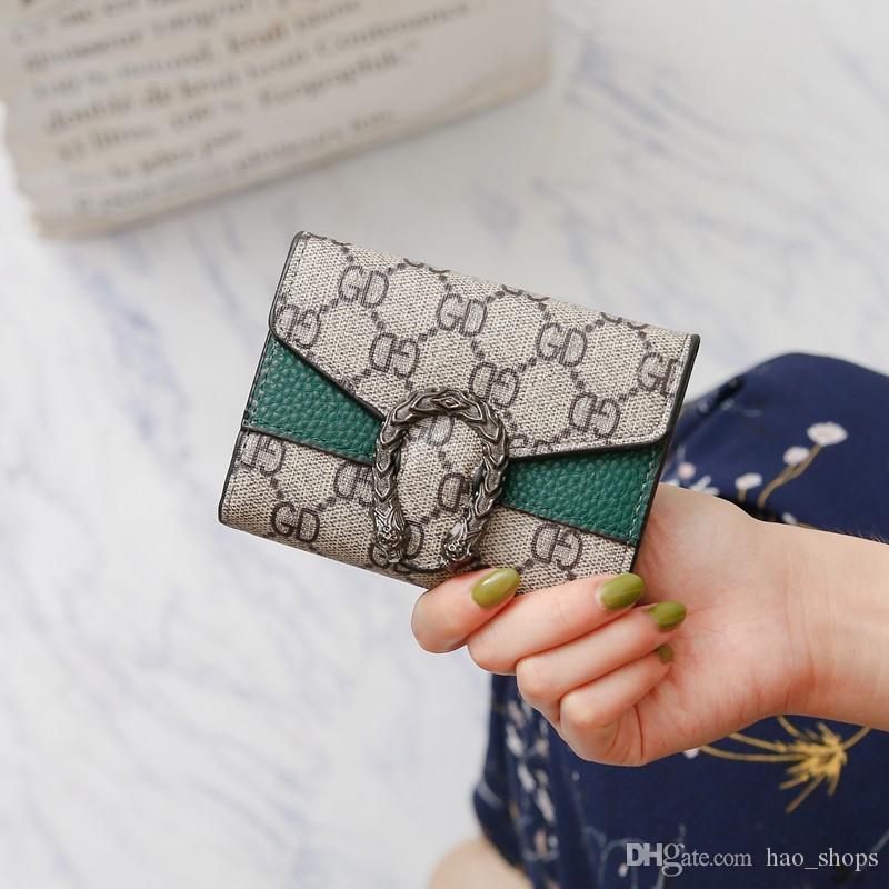 Moda Tasarımı Çanta Kadınlar Düz Kısa Cüzdan PU Katlama Cüzdan Harf Çanta Kredi Kart Sahibi Bayanlar Debriyaj Çanta Çantalar yazdır