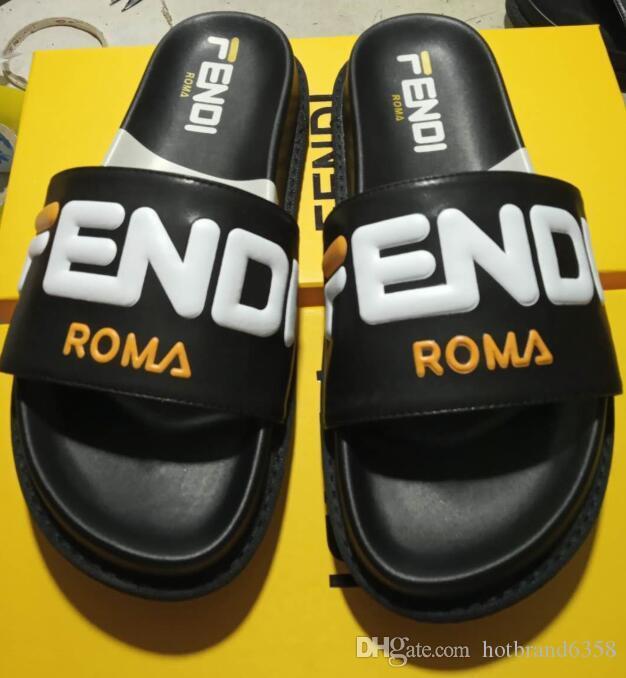 nwh085 nouvelles femmes chaudes lJour Diapositives été de haute qualité Design Plage Sandales plates Intérieur chaussons Maison Tongs