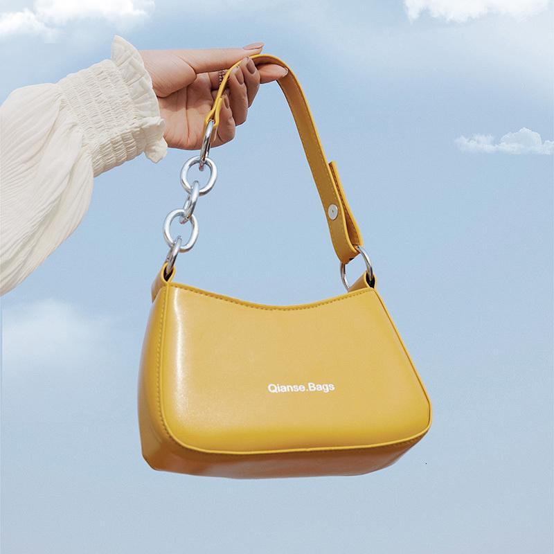 Hobo Pu pequeno Vintage sacos de ombro para as Mulheres 2020 Cor Viva Totes Feminino bolsa de couro e bolsa Ladies Clutch