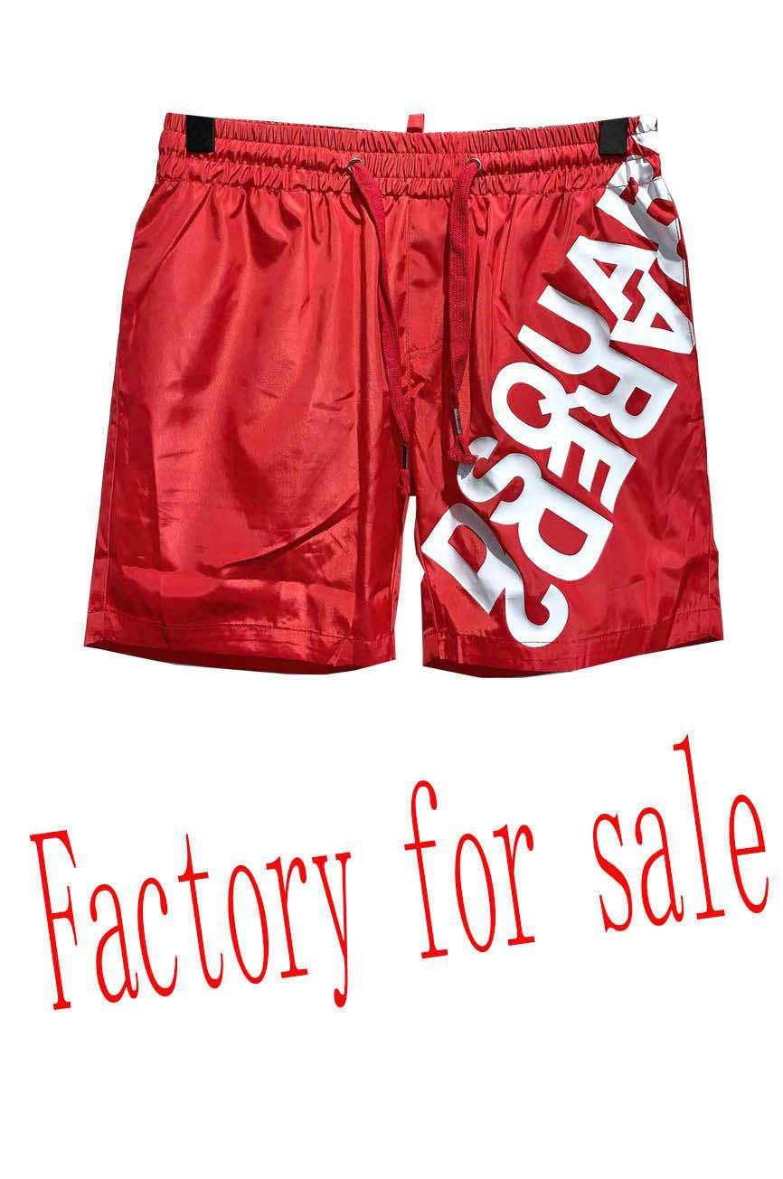 pantalones de vacaciones en la playa de los hombres de la marca de la medusa europeos cortos tendencia de hip-hop 20 verano nuevo patrón impreso de nylon cortos masculinos