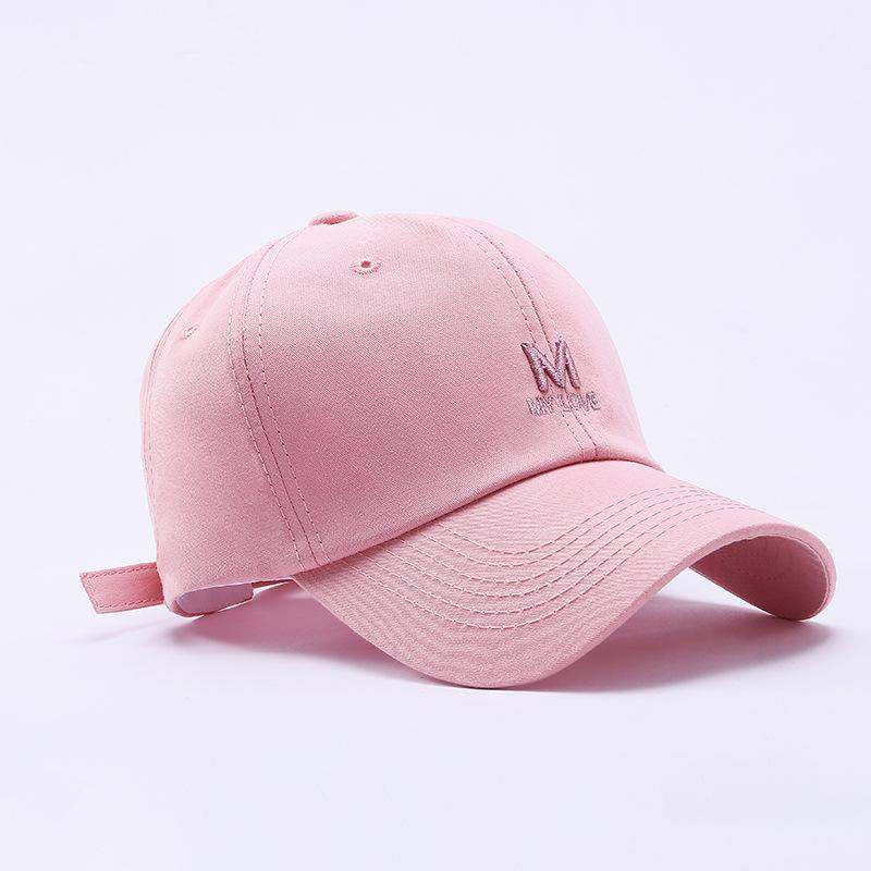2020 spring and summer new Korean men and women peaked cap letters embroidery outdoor shade hat personality wild baseball caps