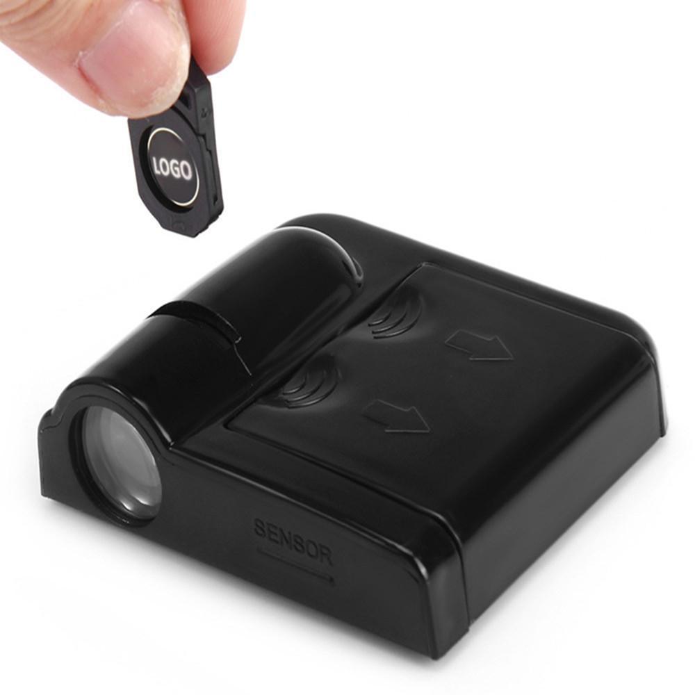 2 Pcs agradable llevada puerta de la luz láser proyector 3D para Acura TSX Logo / RDX / MDX TLX ZDX CSX EL RLX CL