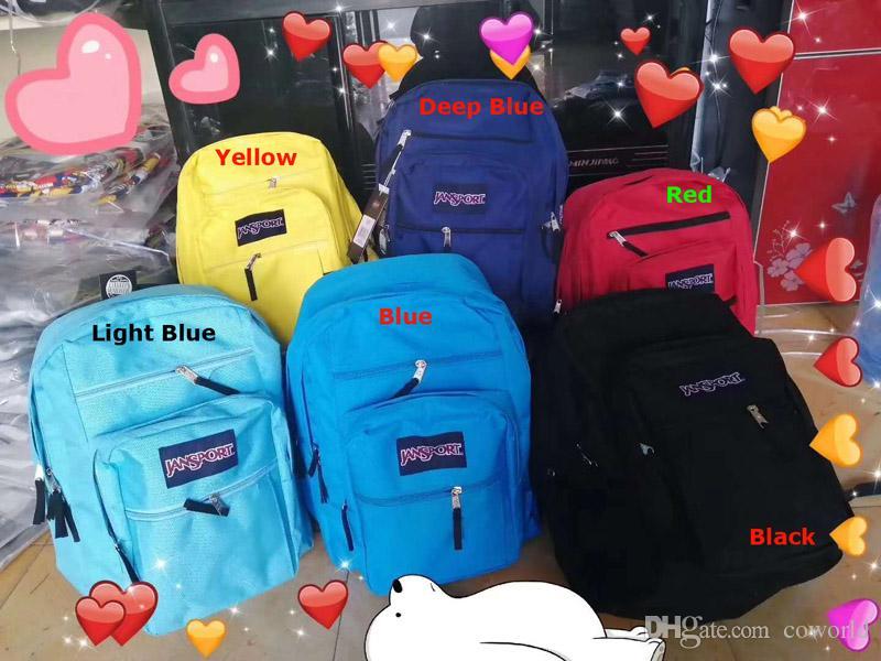 새로운 잔 스포츠 빅 학생 가방 포지 남녀 공용 가방 멀티 무지개 색 거품 학교 하이킹 캠핑 여행 가방