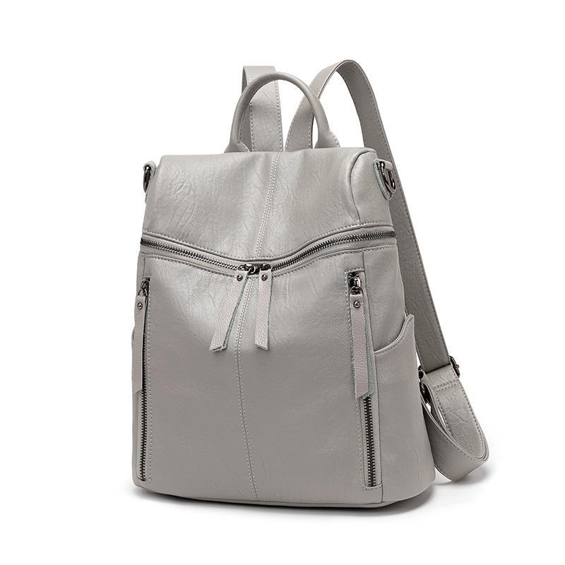 Yeni kadın omuz çantası kadın deri büyük kapasiteli sırt çantası vahşi Kore eğlence seyahat çantası 2020 sıcak satış