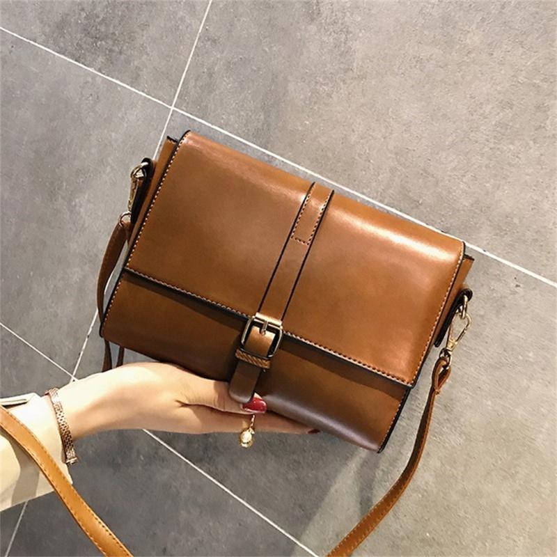 Retro modo femminile del sacchetto 2020 nuove dell'unità di elaborazione di qualità delle donne di cuoio borsa delle signore cartella della spalla Messenger Borse Sac à main