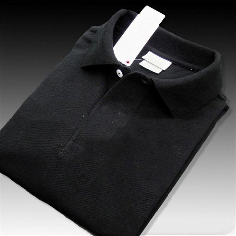 Erkek Polo Gömlek Yaz Polo Nakış Erkek Polo Gömlek Moda Gömlek Erkekler Kadınlar High Street Casual En Tee Hot Tops