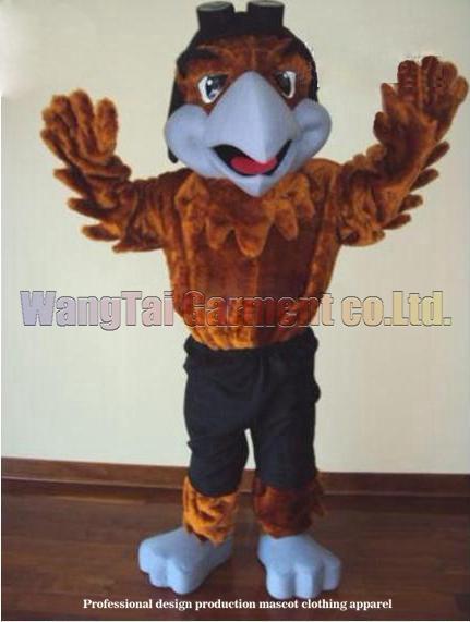 New Eagle Hawk-Maskottchen-Kostüm Erstklassig deluxe Zeichentrickfigur Kostüme Big Bird Maskottchen Klage Abendkleid Partei Karneval-freies Verschiffen