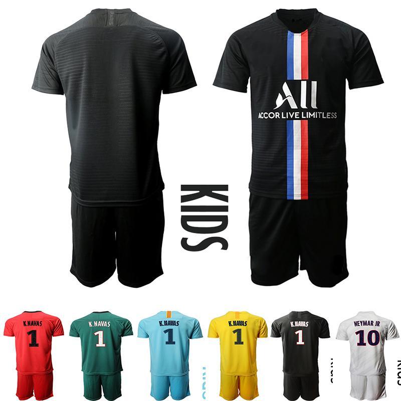 2020 Kids 2020 21 Di Maria Goalkeeper Sarabia Football Jersey Psg K Navas 1 Shirt Home Neymar Jr Mbappe Kit Sets Uniform Children Soccer Jersey From Sneakerplaza 13 07 Dhgate Com