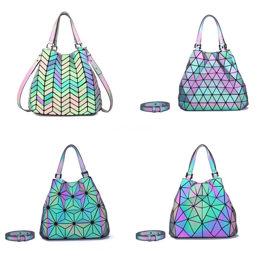 Mulheres ombro designer bolsas mulheres sacos cadeia saco de boa qualidade Pu Luminous Ladies Handbag Tote New Hot venda # 164