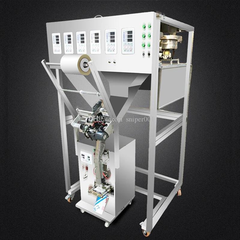 110V 220V Mixing Packing Machine Granule Powder Filling Machine Multigrain Flower Tea Seasoning Powder Multi-head Packing Machine
