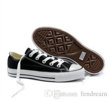 ÜST kalite Fabrika fiyat promosyon fiyatı! Femininas kanvas ayakkabılar kadınlar ve erkekler, yüksek / Düşük Stil Klasik Tuval Ayakkabı Sneakers Tuval Ayakkabı