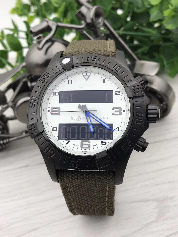 최고 품질 남자 시계 스틸 쿼츠 무브먼트 시계 스테인리스 시계 남자 손목 시계 (234)