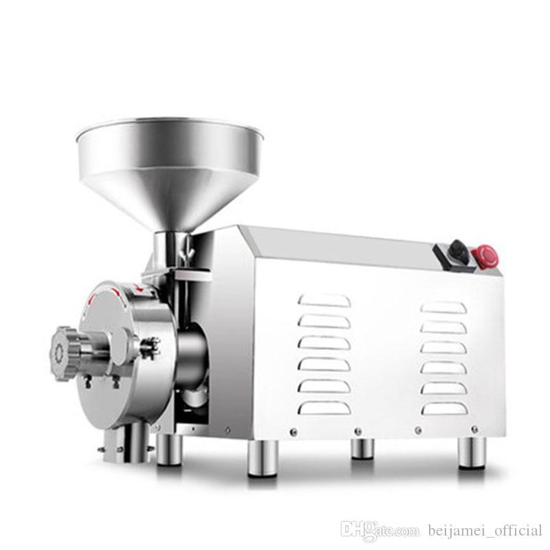 BEIJAMEI Factory 3000W Máquina de molienda de granos de cereales de alimentos comerciales 110V 220V Máquina de molienda de molienda de granos de polvo automática
