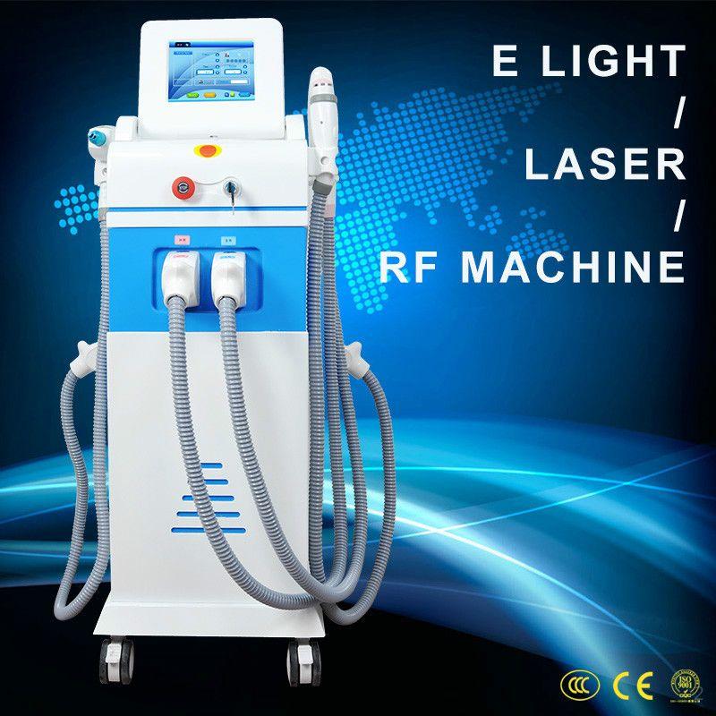 2020 новое поступление горячая продажа 4 in1 elight ipl RF Nd YAG лазер для удаления волос ipl beauty machine CE approved
