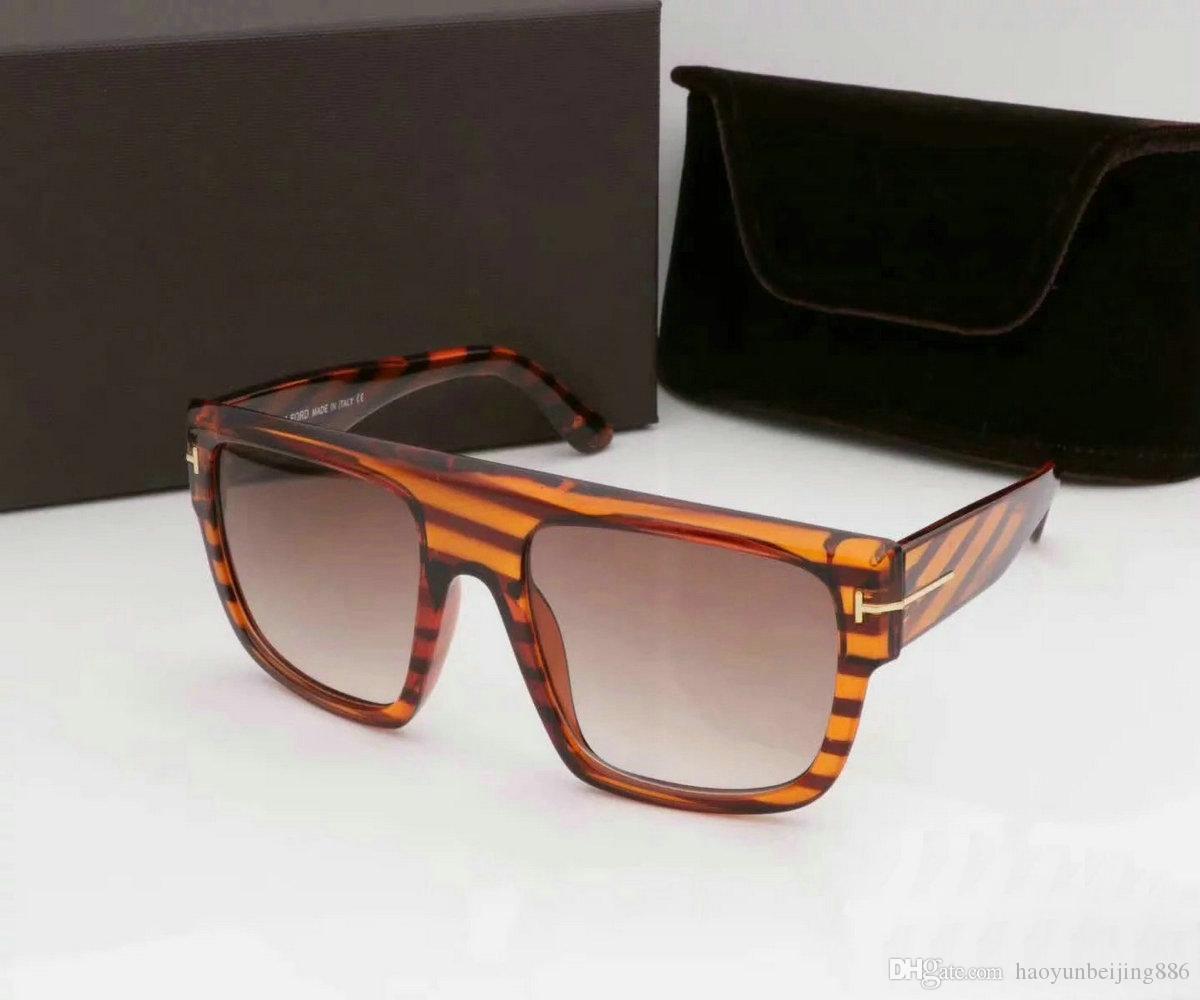 vender de lujo superior gran calidad de dicha cantidad nueva de la manera 211 Tom gafas de sol para mujer del hombre Erika Gafas de diseño de Ford Marca de los vidrios de sol con la caja de tom 967