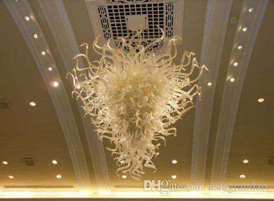 100% soffiato CE UL borosilicato Vetro di Murano Dale Chihuly arte del progettista famoso Pendant soffitto illuminazione moderna